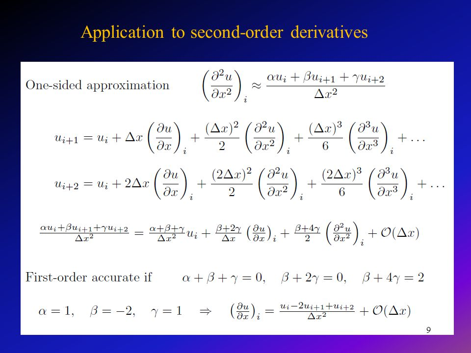 Podsumowanie Dokładność rozwiązania można zwiększyć przez zagęszczenie siatki różnicowej.