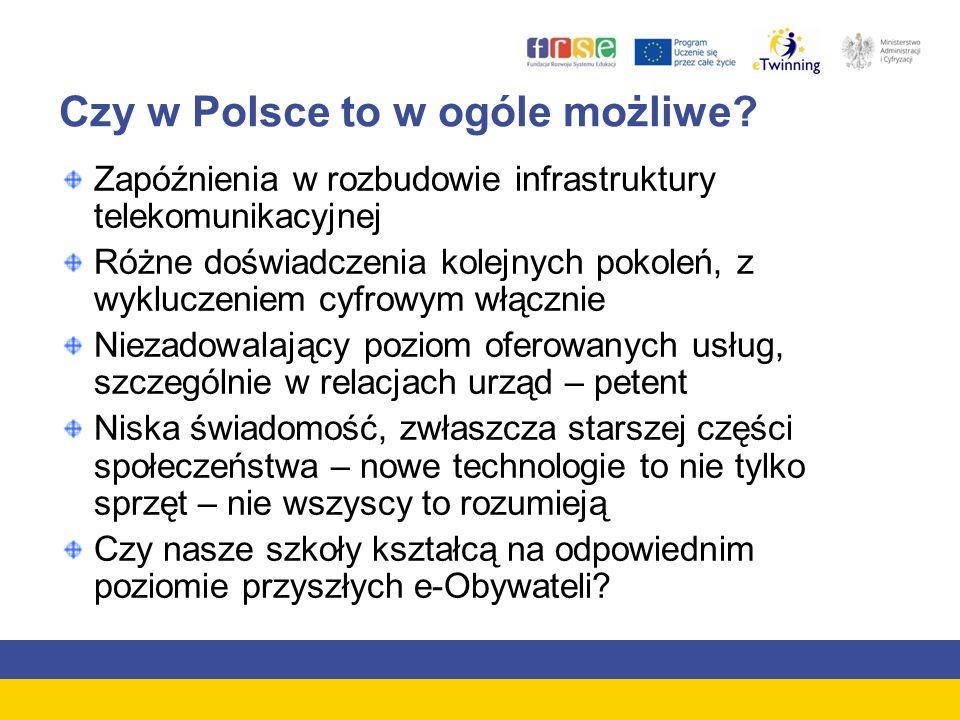 Czy w Polsce to w ogóle możliwe.