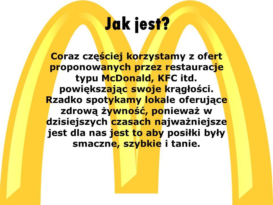  C:\Users\ADMIN\Desktop\McDonald s_logo[1].jpg C:\Users\ADMIN\Desktop\McDonald s_logo[1].jpg Otyłość Z naszych obserwacji wynika, że problem otyłości jest powszechnie znany wśród dzieci i młodzieży.