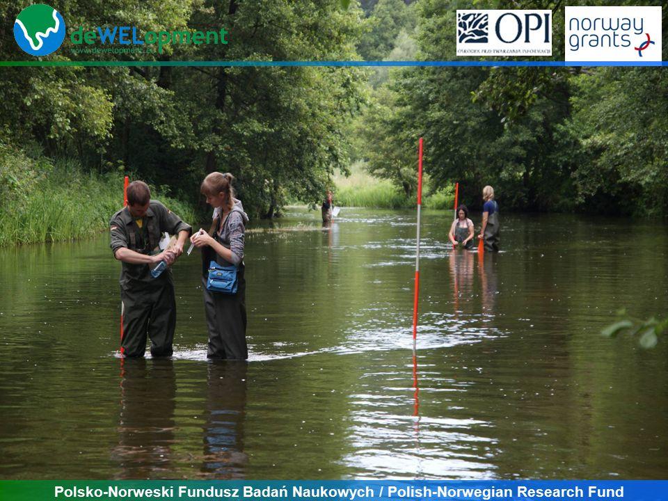 Polsko-Norweski Fundusz Badań Naukowych / Polish-Norwegian Research Fund Wel catchement river-lake relationship Wel (pkt 1)Jez.