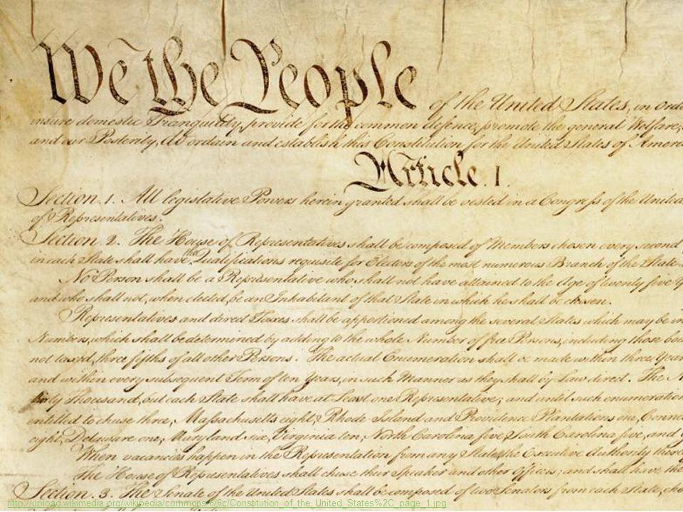 Konwencja konstytucyjna w Filadelfii (1787) na obrazie Howarda Chandlera Christiego http://upload.wikimedia.org/wikipedia/commons/9/9d/Scene_at_the_Signing_of_the_Constitution_of_the_United_States.jpg