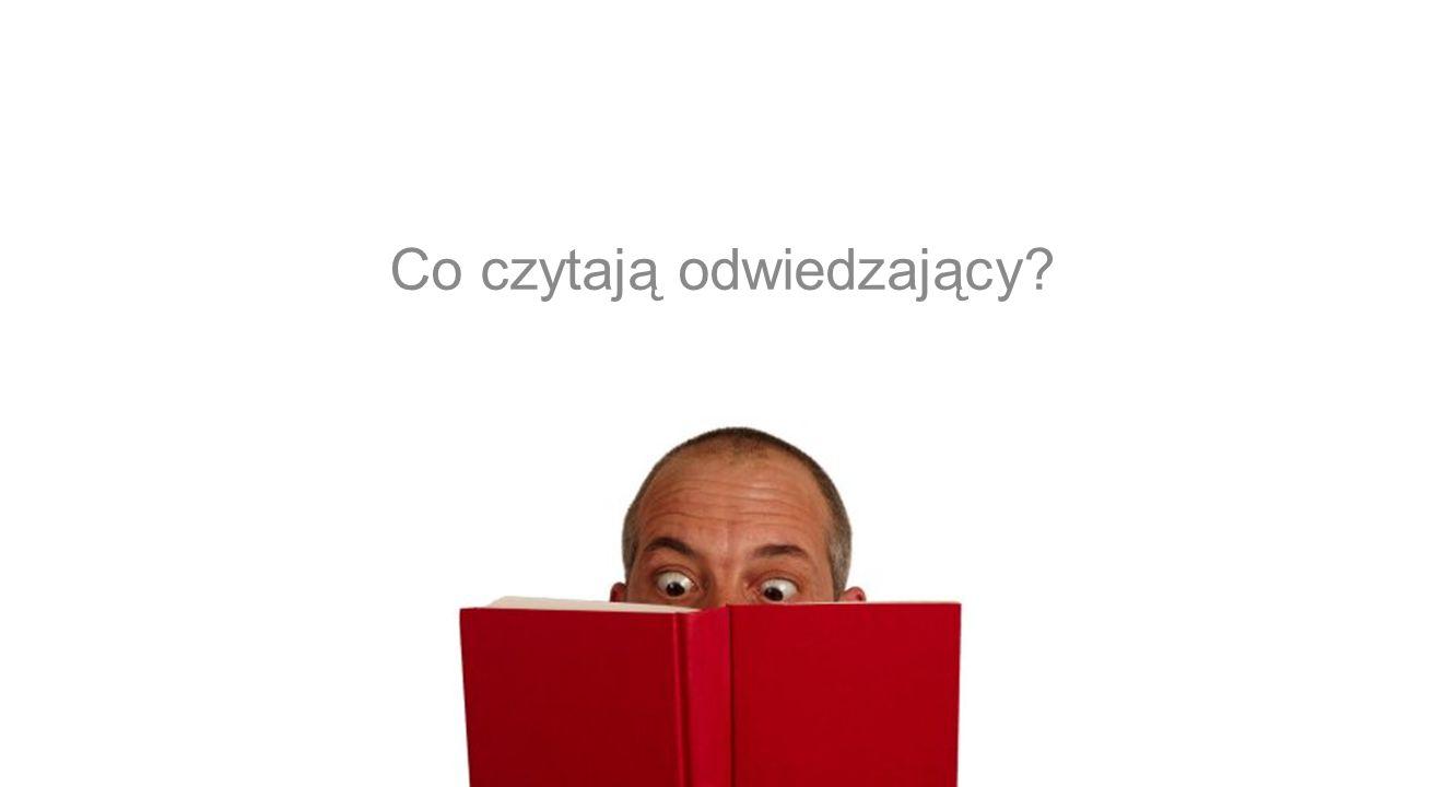 Co czytają odwiedzający?