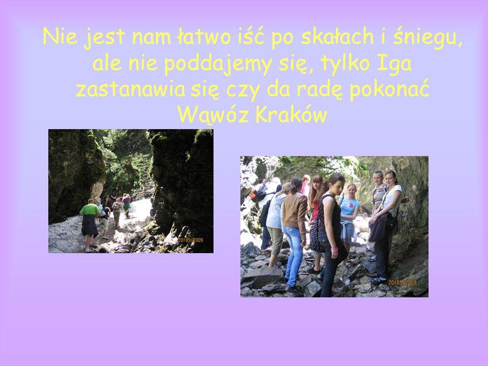 Nasze panie dały radę...i przeszły z nami Wąwóz Kraków