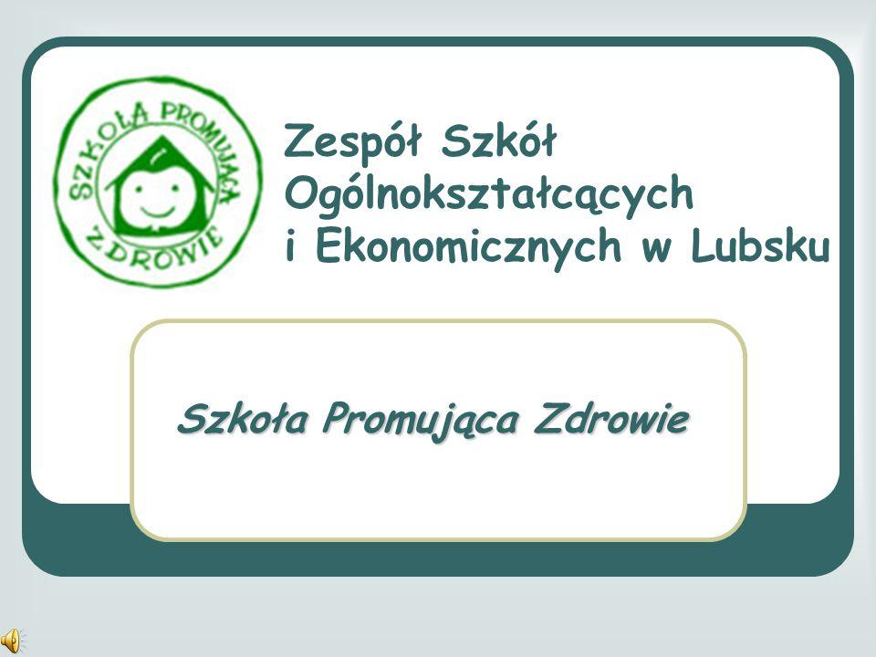 Zespół Szkół Ogólnokształcących i Ekonomicznych w Lubsku Szkoła Promująca Zdrowie