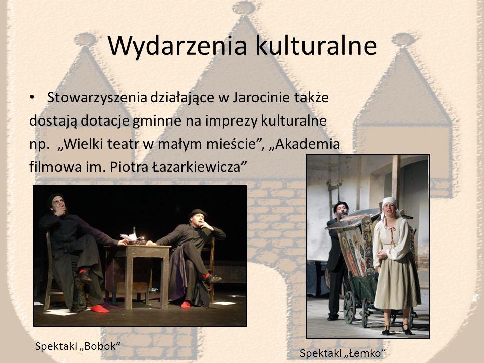 """Wydarzenia kulturalne Gmina dofinansowuje i współorganizuje również """"Festiwal Polskiej Akademii Gitary , który odbywa się w Jarocinie oraz innych miastach Wielkopolski."""