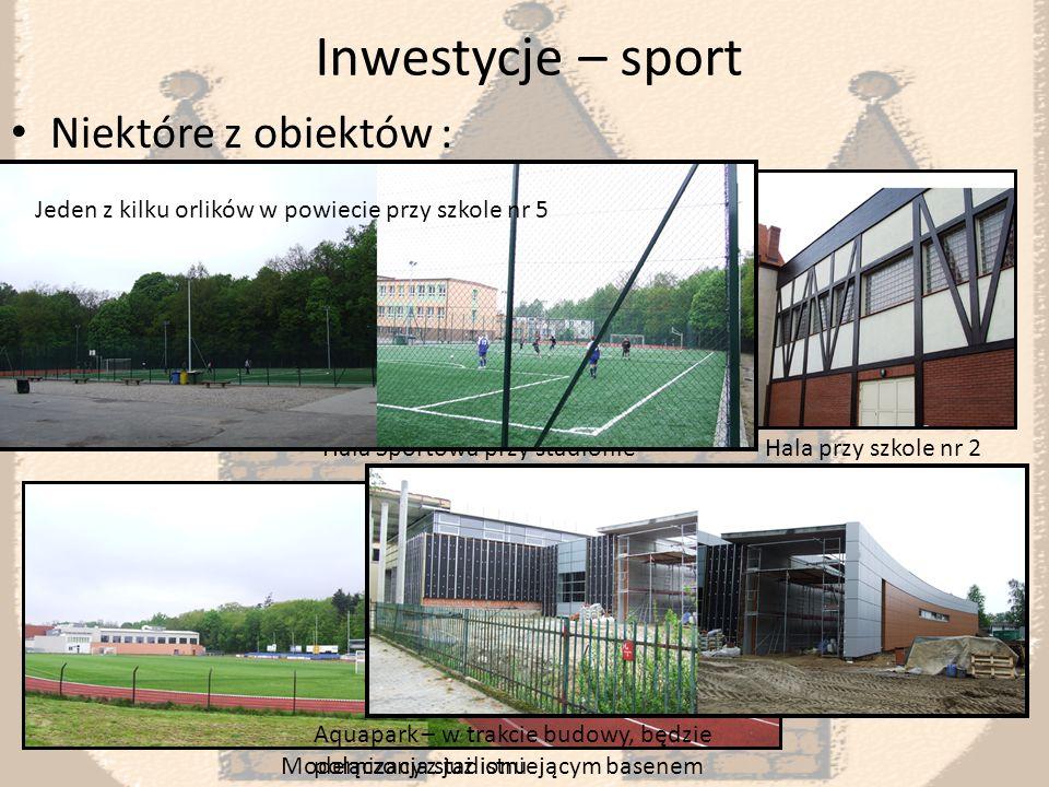 Inwestycje Remonty szkół, przedszkoli ( między innymi termomodernizacje) Modernizacja dróg Rozbudowa Hotelu Jarota Zespół szkół nr 5 S.P nr 2 Ul.