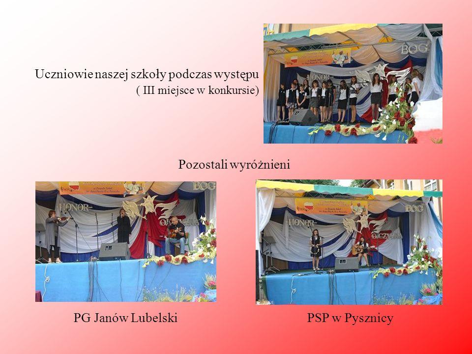 SP w Groblach PG w Chwałowicach PSP w Kobylanach PG w Batorzu