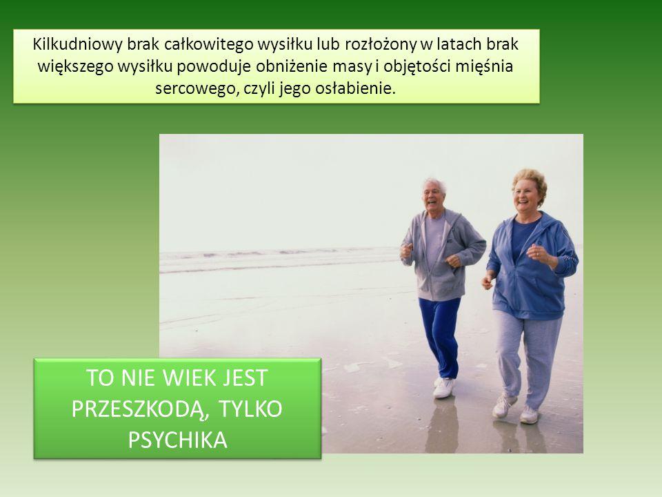 Niski poziom aktywności fizycznej zaburza funkcjonowanie układu odpornościowego.