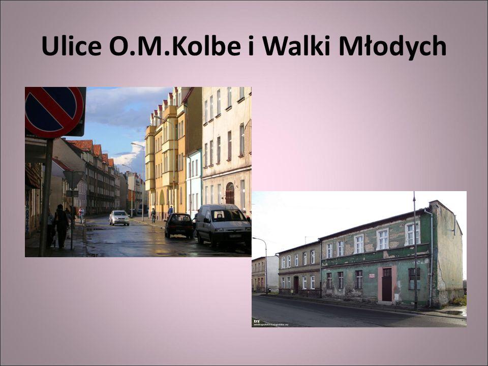 Ulice O.M.Kolbe i Walki Młodych