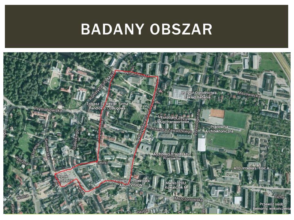 BADANY OBSZAR