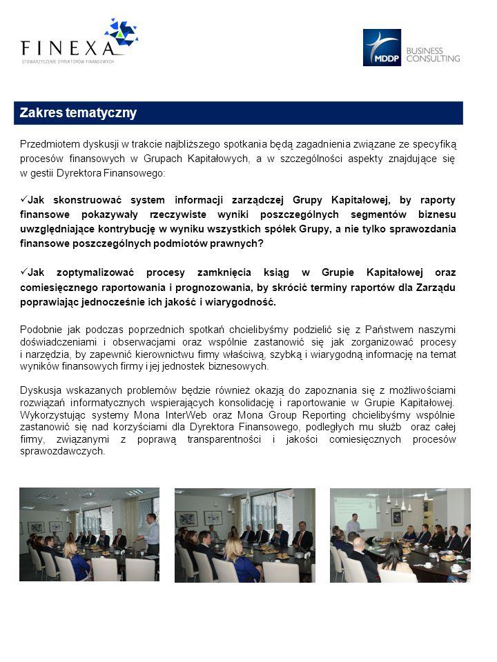 Prowadzący Wojciech Kopcik, Partner w MDDP Business Consulting W latach 1996-2004 pracował w biurze Ernst & Young w dziale audytu na stanowisku menedżera a w latach 2004-2006 pełnił funkcję Dyrektora ds.