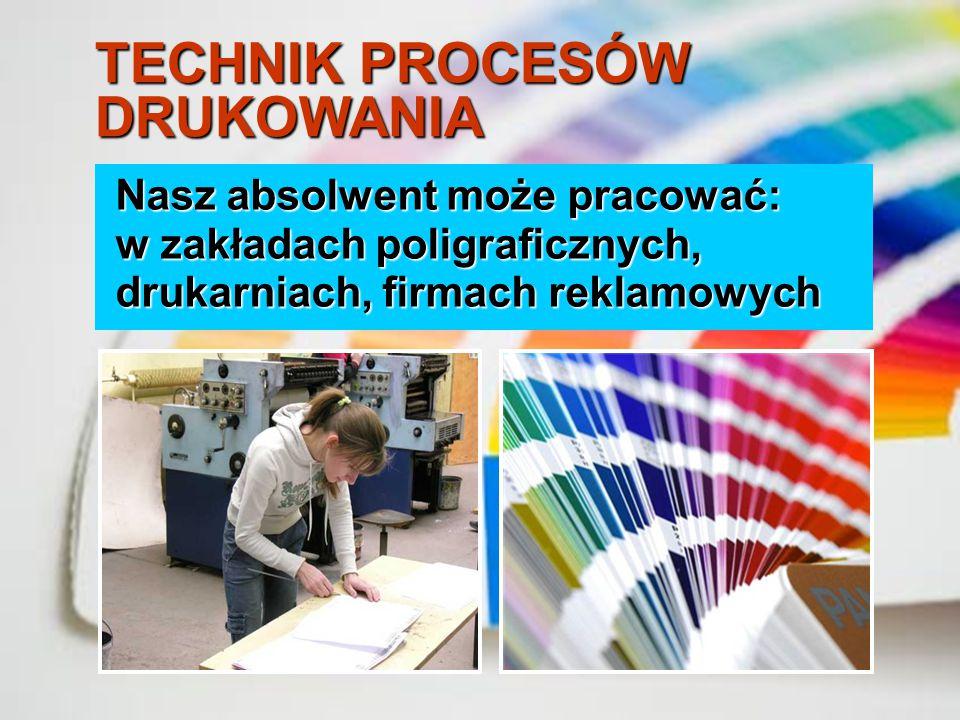sporządza formy drukowe, przygotowuje materiały, maszyny i urządzenia do procesu drukowania, drukuje nakład z form drukowych, planuje poligraficzne pr