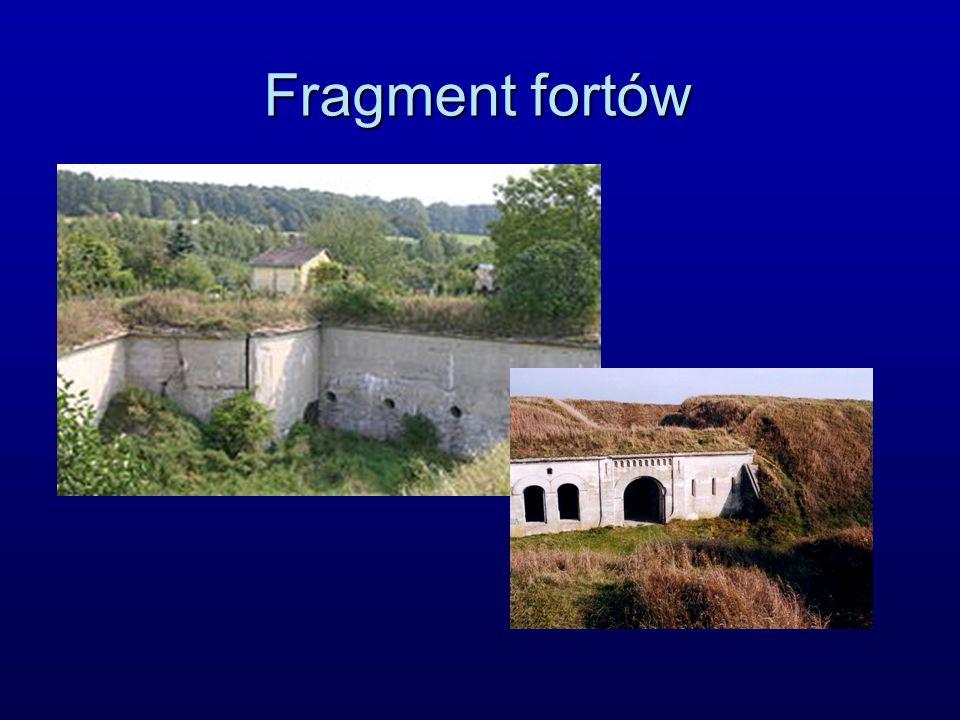 Fragment fortów