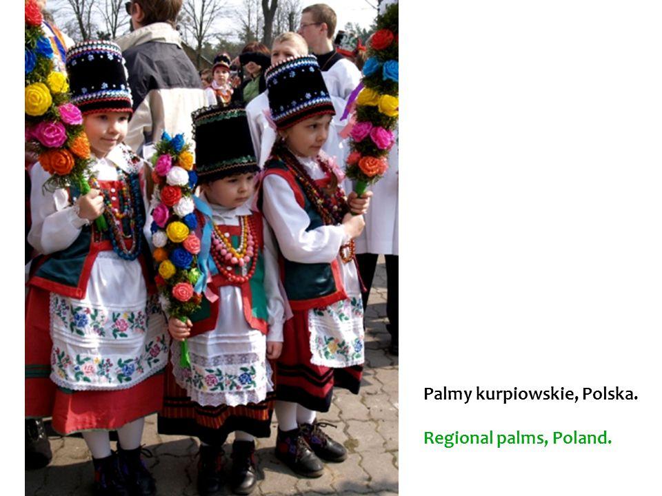 Palmy kurpiowskie, Polska. Regional palms, Poland.