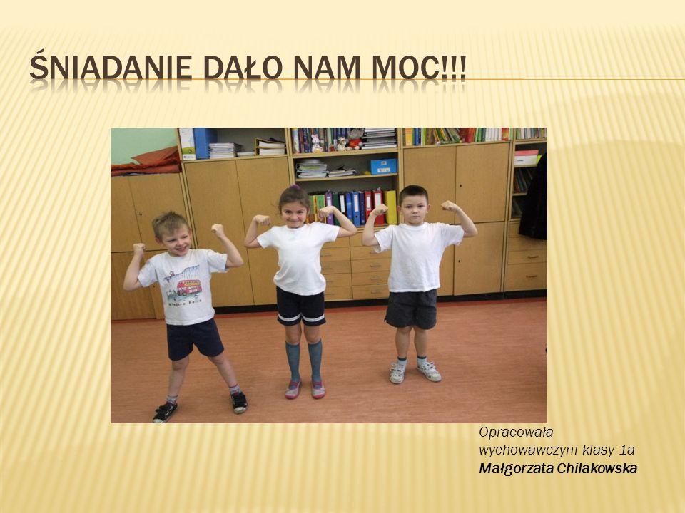 Opracowała wychowawczyni klasy 1a Małgorzata Chilakowska