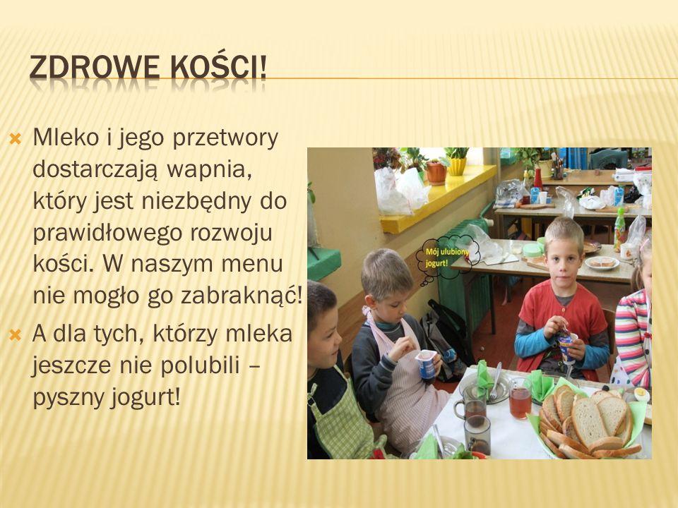  Bardzo ważne jest, by także w szkole, między zajęciami zjeść tzw.