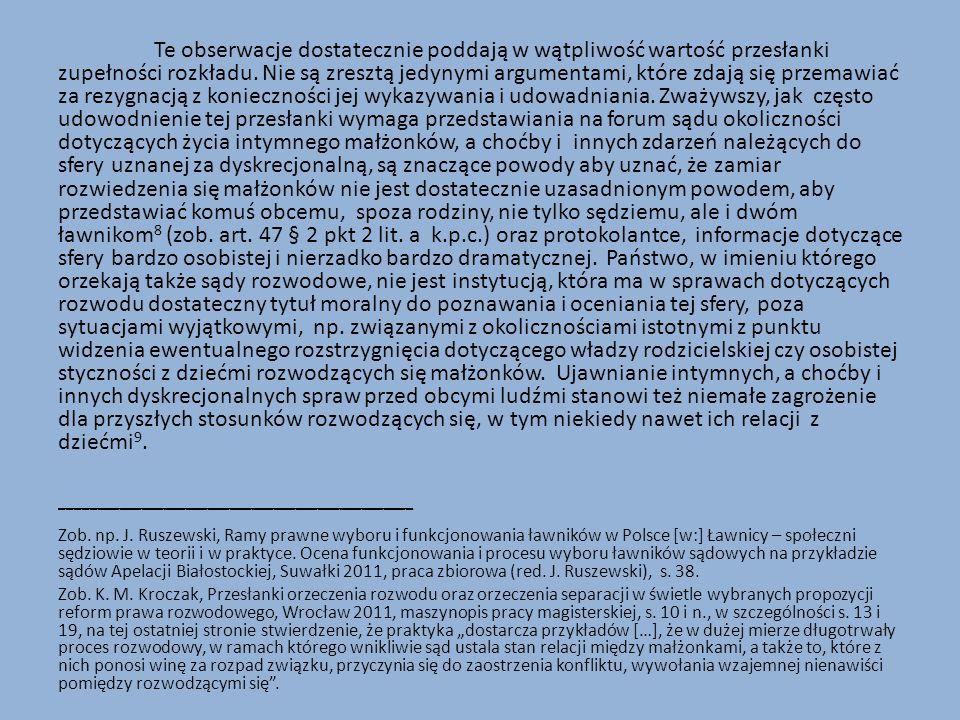 W paragrafie 2 art.56 k.r.o.