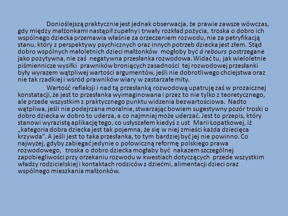 Praktyczny walor postanowień zawartych w art.56 § 2 in fine oraz w art.