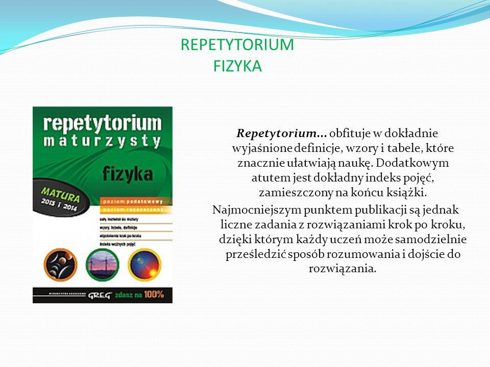 REPETYTORIUM BIOLOGIA Książka ta nie została przeładowana niepotrzebnymi w praktyce szkolnej informacjami, a zawarte w niej treści zaprezentowano prostym, zrozumiałym językiem.