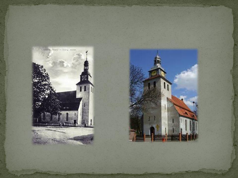 Pierwszy kościół według tradycji zbudowany został w Łobżenicy w 1141 roku.