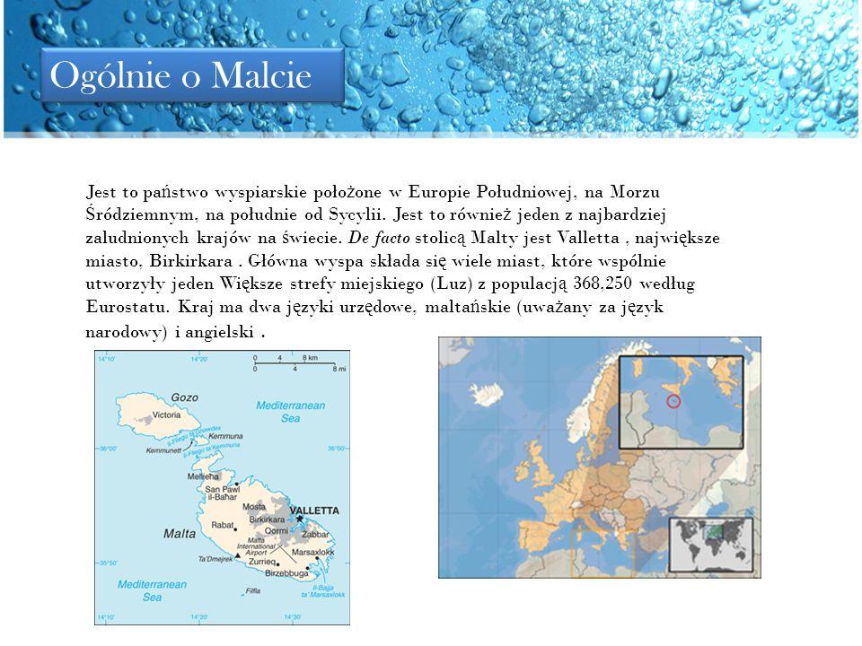 Malta jest jedynym krajem, który nale ż y do Europy, gdzie nie wyst ę puje zima.