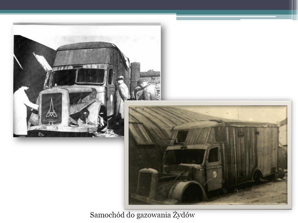 Samochód do gazowania Żydów