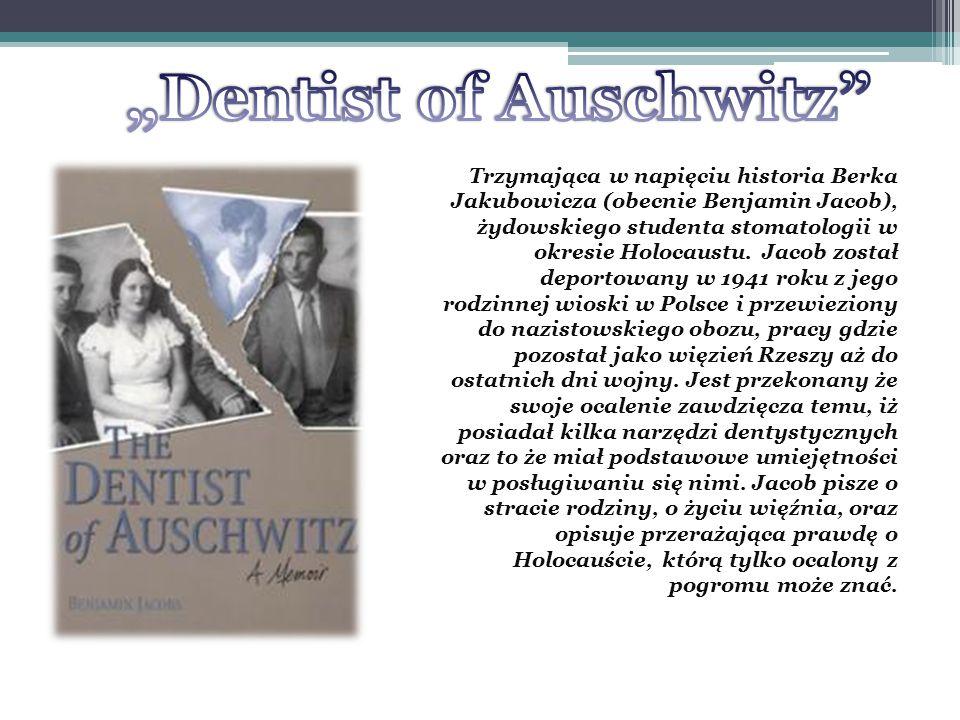 Trzymająca w napięciu historia Berka Jakubowicza (obecnie Benjamin Jacob), żydowskiego studenta stomatologii w okresie Holocaustu.