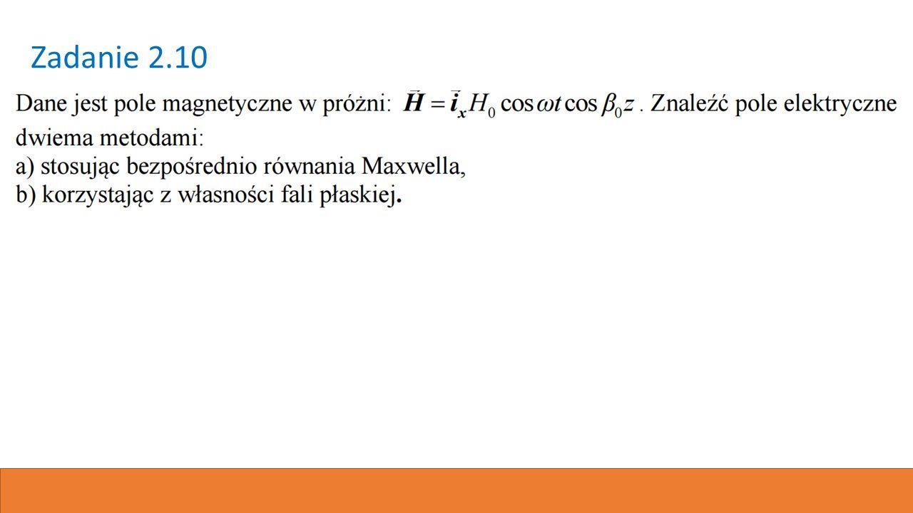 Równania Maxwella Prąd przewodzenia Prąd przesunięcia