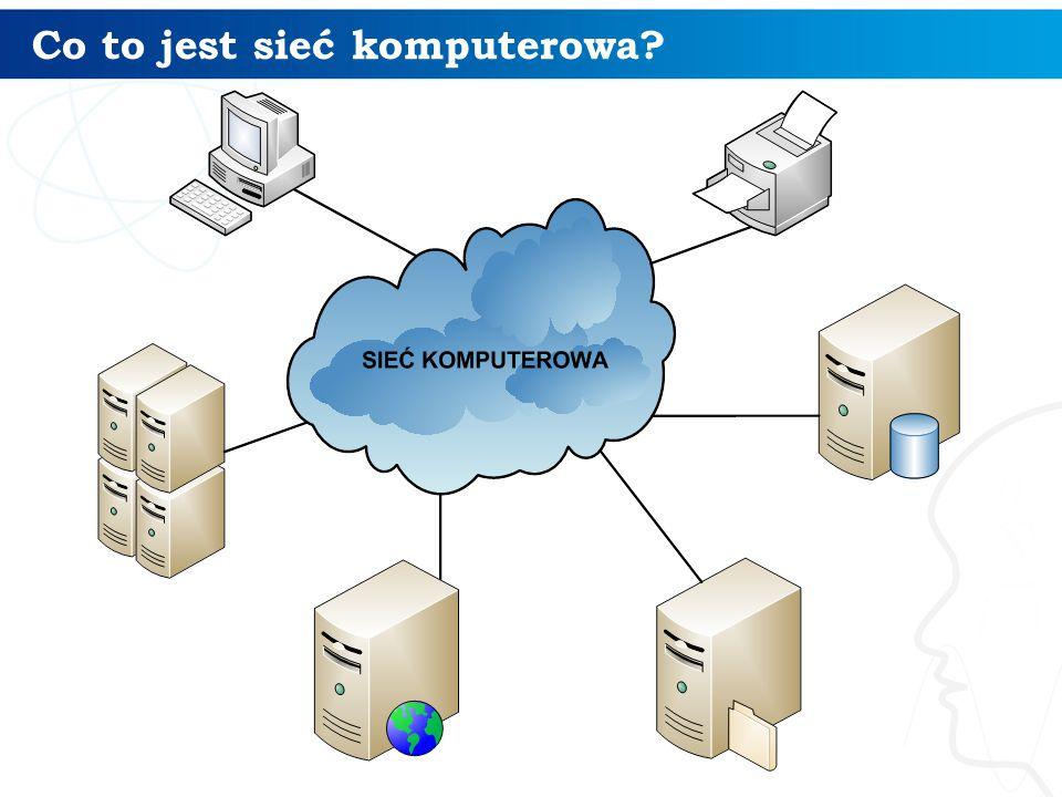 Co umożliwia praca w sieci komputerowej.