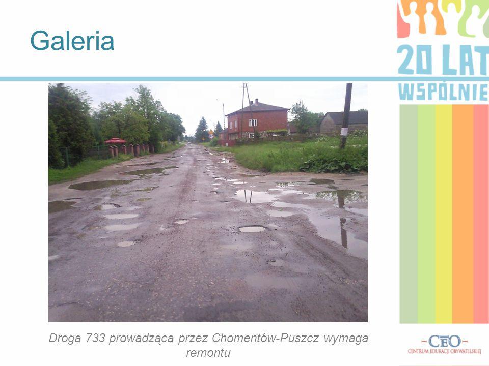 Wywiad z Burmistrzem Miasta i Gminy Skaryszew p. Ireneuszem Kumięgą 1)Czy powstały nowe inwestycje na terenie Chomentowa Puszcz, Socha i Szczygieł? Od