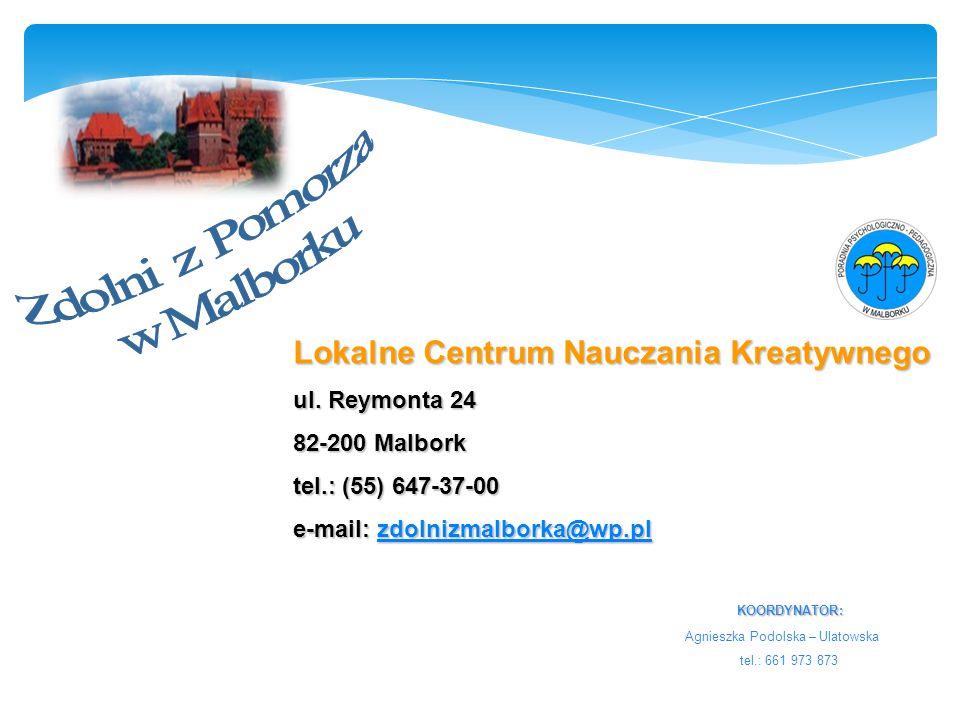 Lokalne Centrum Nauczania Kreatywnego ul.