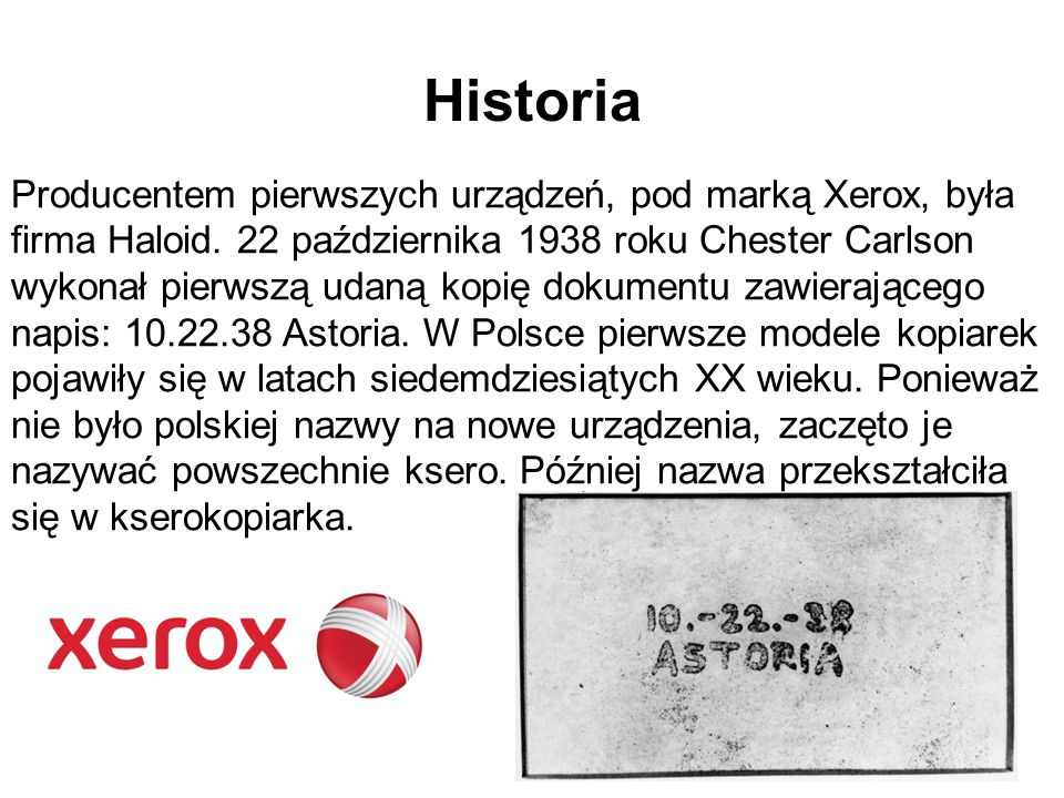 Dziękuję za uwagę Źródła: http://pl.wikipedia.org/wiki/Kserokopiarka google grafika