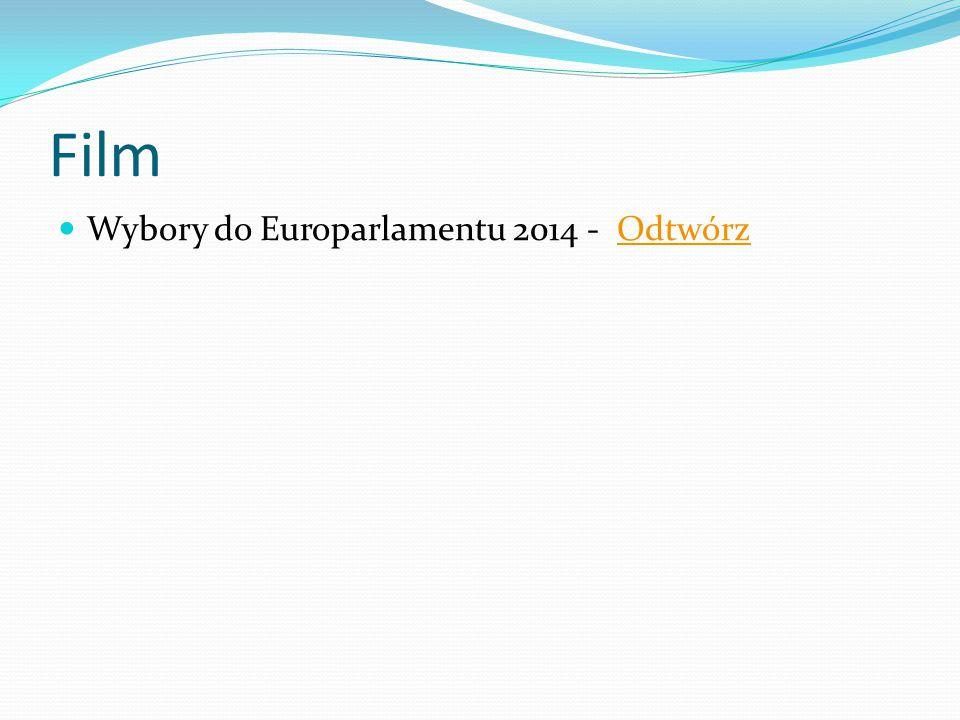 Film Wybory do Europarlamentu 2014 - OdtwórzOdtwórz