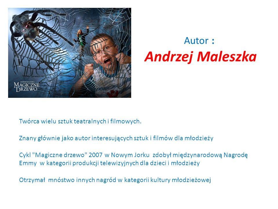 """Andrzej Maleszka """"Magiczne drzewo"""" magia humor fantastyka przygoda"""