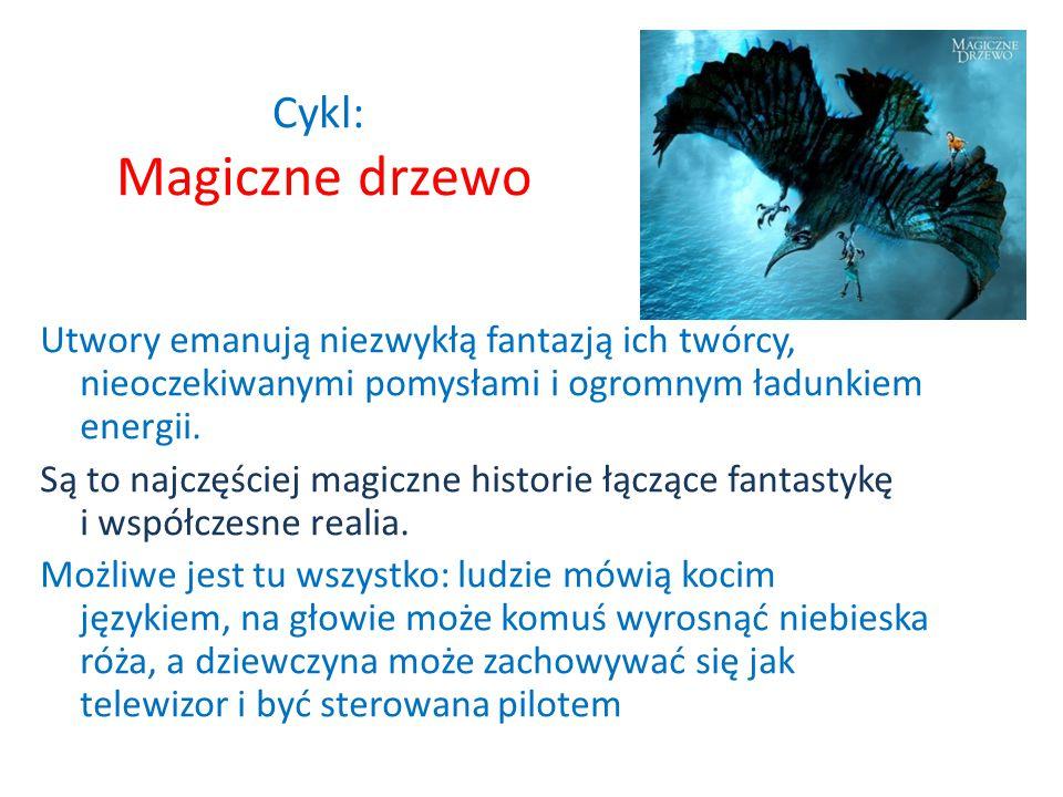 Autor : Andrzej Maleszka Twórca wielu sztuk teatralnych i filmowych. Znany głównie jako autor interesujących sztuk i filmów dla młodzieży Cykl
