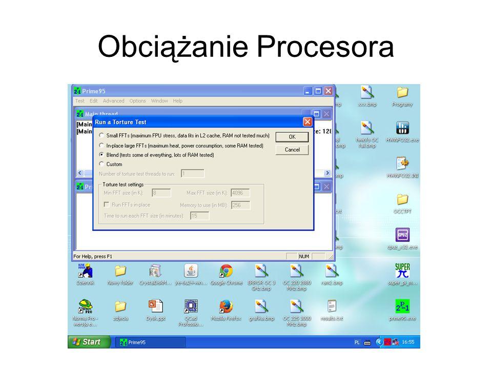 Obciążanie Procesora