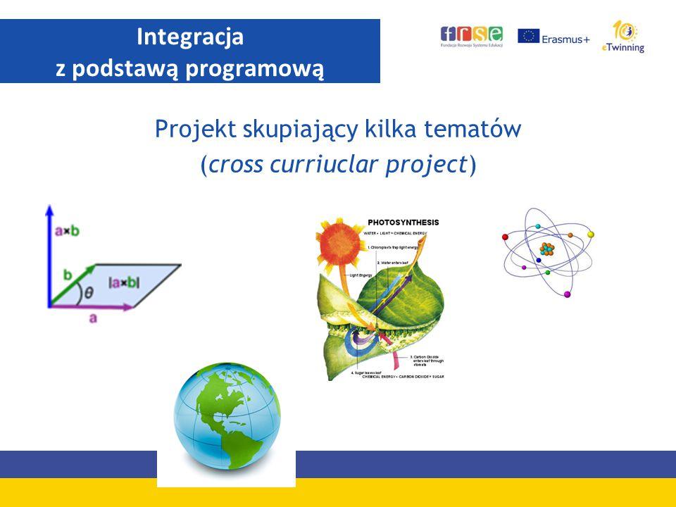 Projekt skupiający kilka tematów (cross curriuclar project) Integracja z podstawą programową