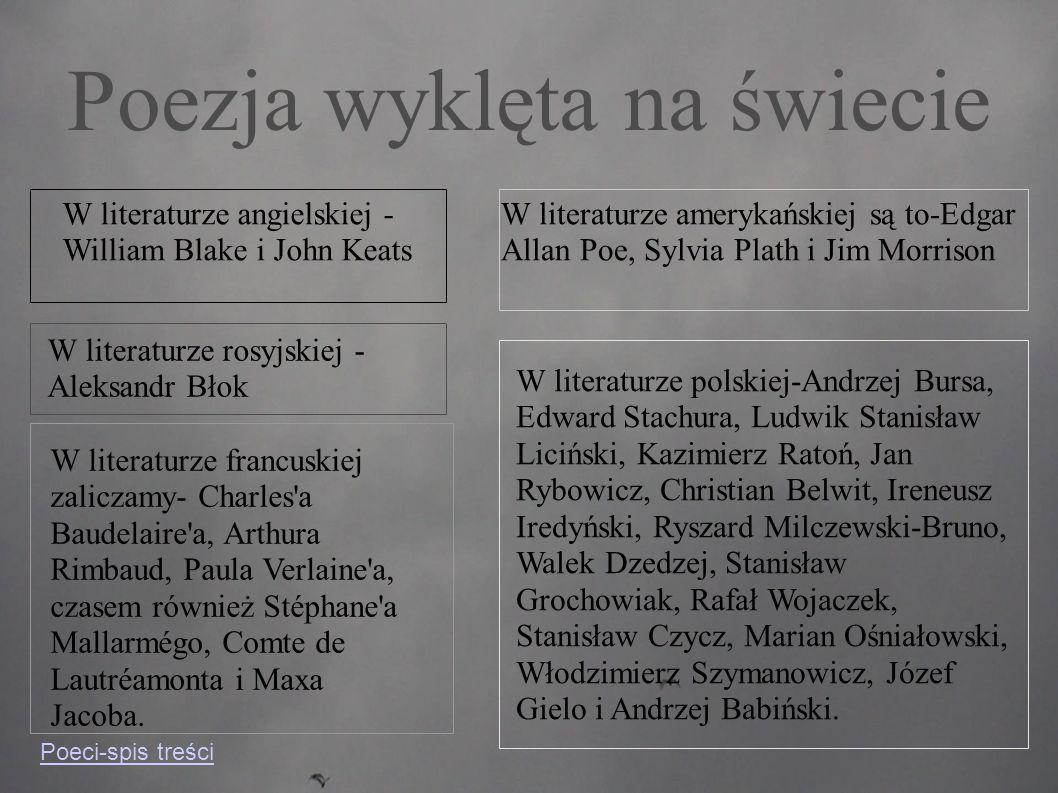 Andrzej Bursa ▸ Autor wierszy,prozaików,utworów literackich,prób dramatycznych oraz powieści Zabicie ciotki.