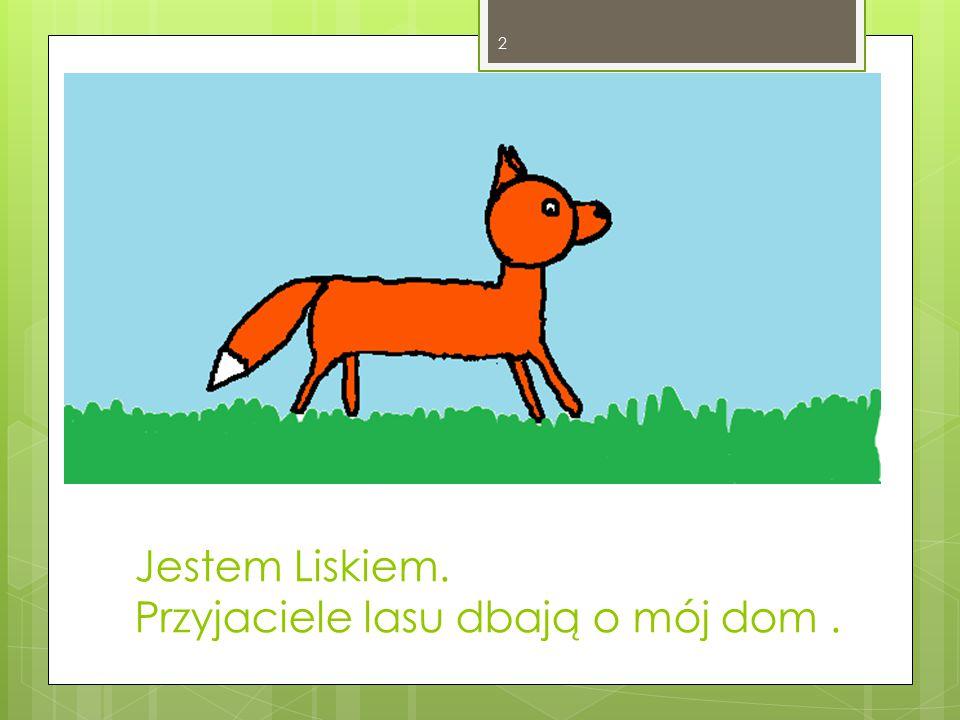 Jestem Liskiem. Przyjaciele lasu dbają o mój dom. 2