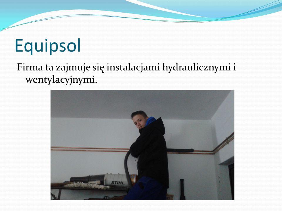 Equipsol Firma ta zajmuje się instalacjami hydraulicznymi i wentylacyjnymi.