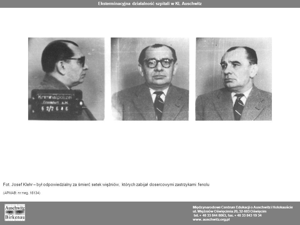 Międzynarodowe Centrum Edukacji o Auschwitz i Holokauście ul.