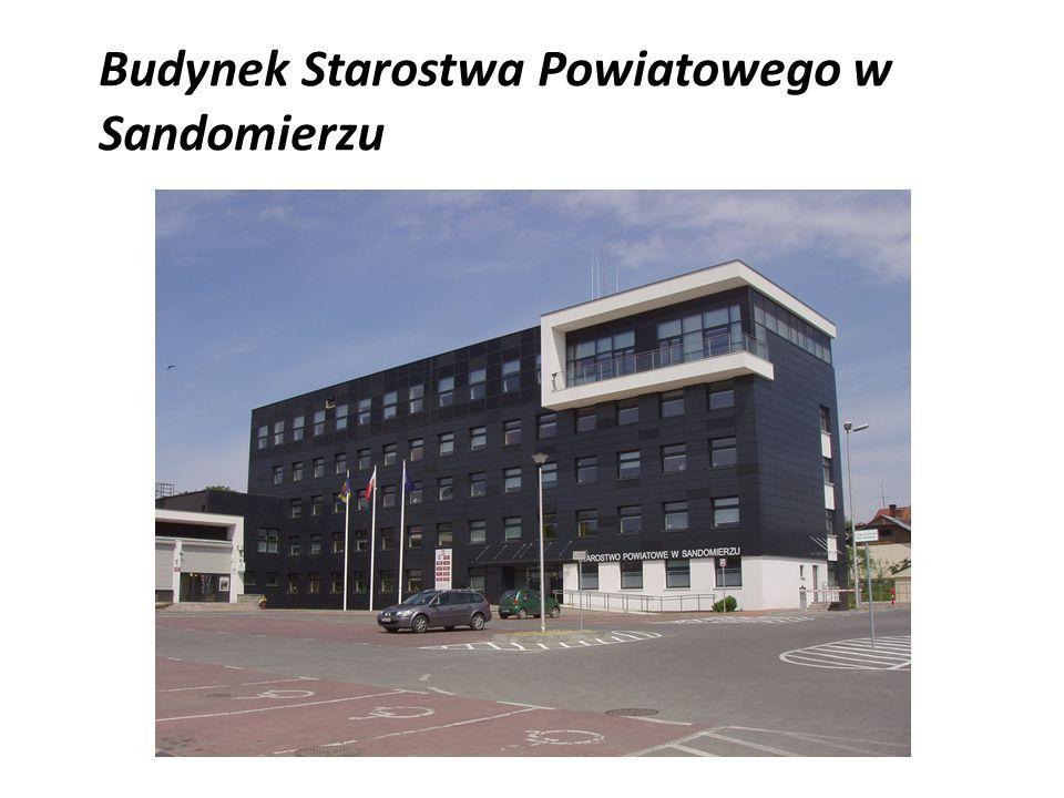 Budynek Starostwa Powiatowego w Sandomierzu