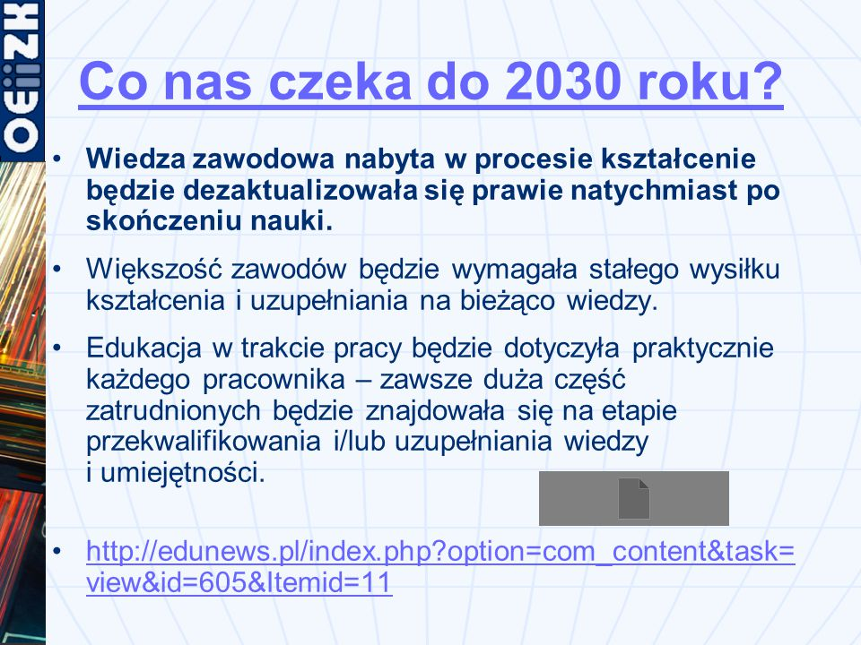 Co nas czeka do 2030 roku.