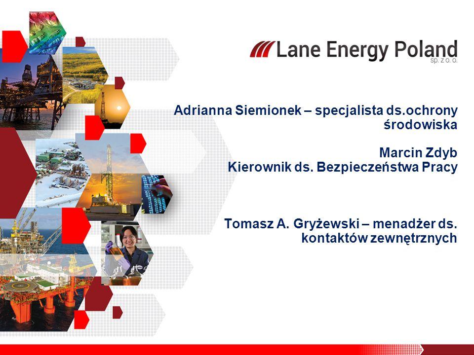Adrianna Siemionek – specjalista ds.ochrony środowiska Marcin Zdyb Kierownik ds.