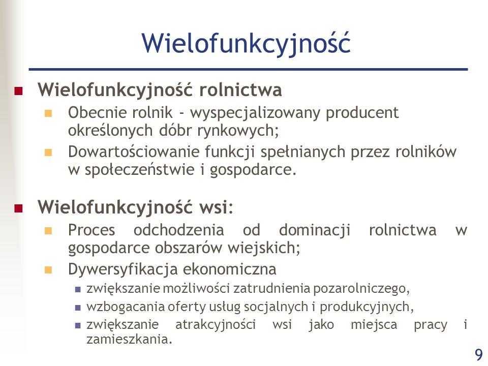 20 PROW w latach 2007-2013 Główne cele: Poprawa konkurencyjności rolnictwa i leśnictwa poprzez wsparcie restrukturyzacji.