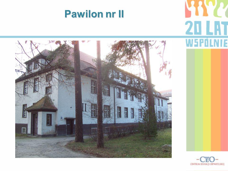 Pawilon nr III (pawilon nr I w tle)