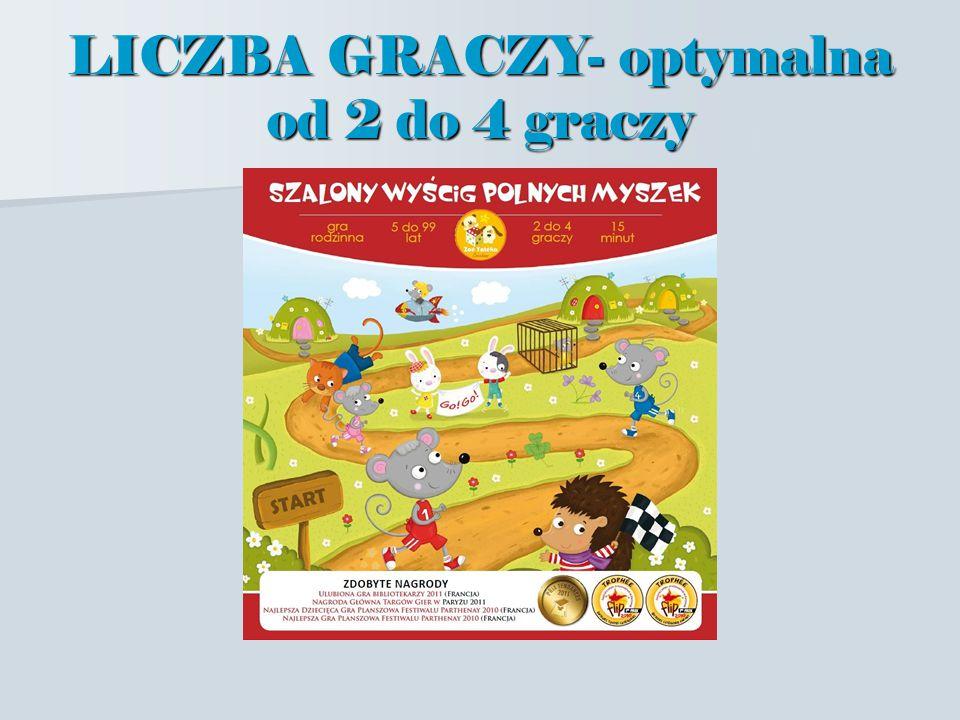 LICZBA GRACZY- optymalna od 2 do 4 graczy