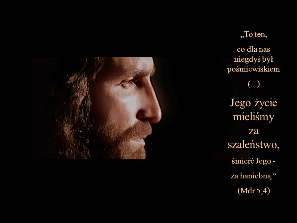 """... Bóg stworzył człowieka - uczynił go obrazem swej własnej wieczności."""" (Mdr 2,23) """"Do nieśmiertelności..."""