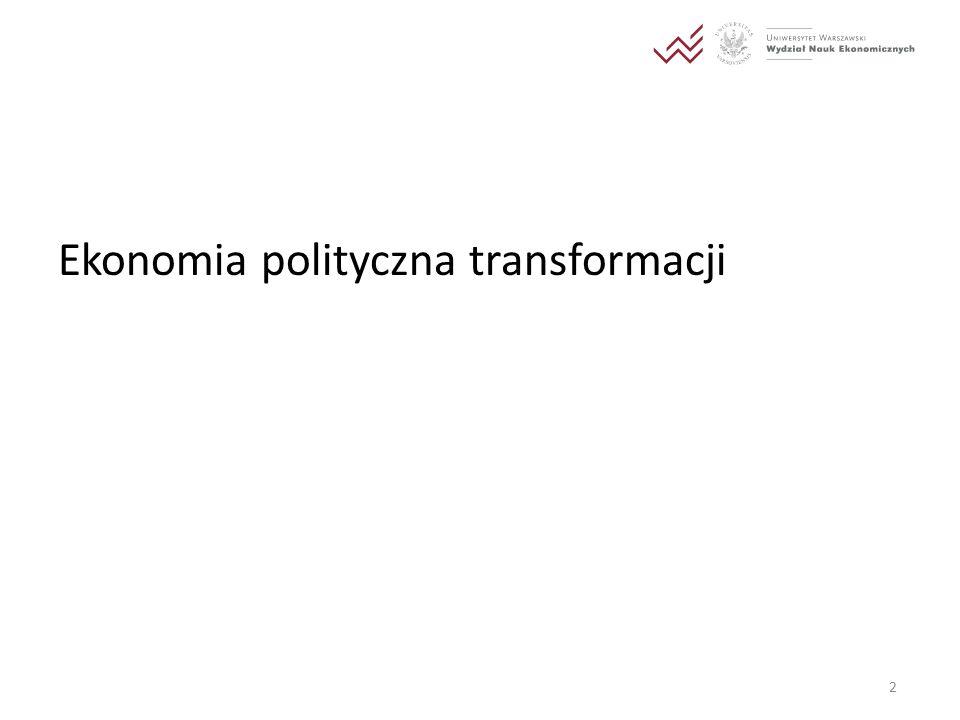 Ekonomia polityczna transformacji 2