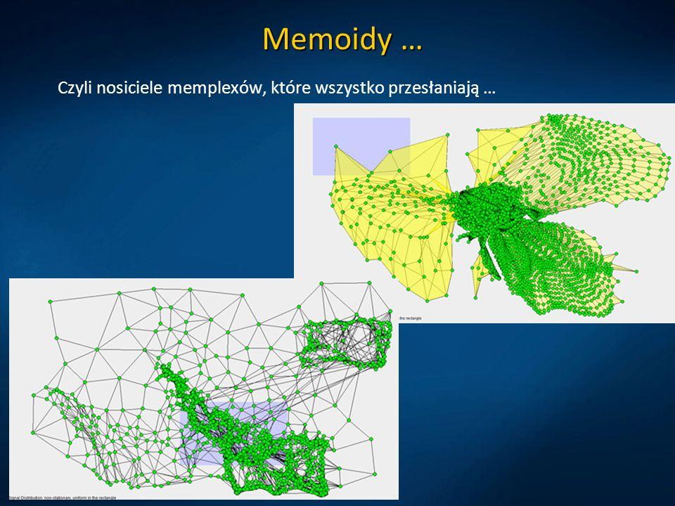 Memoidy … Czyli nosiciele memplexów, które wszystko przesłaniają …
